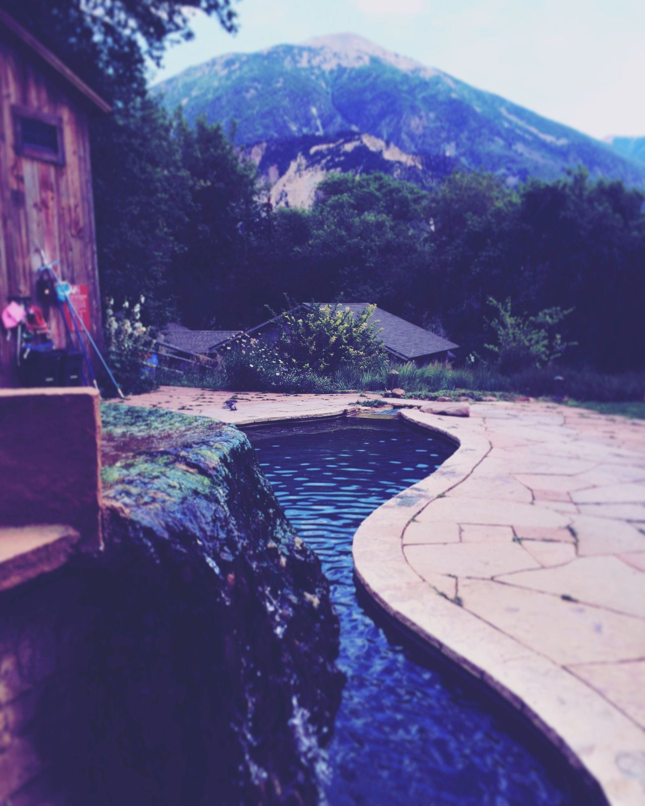 Avalanche Ranch Hot springs!