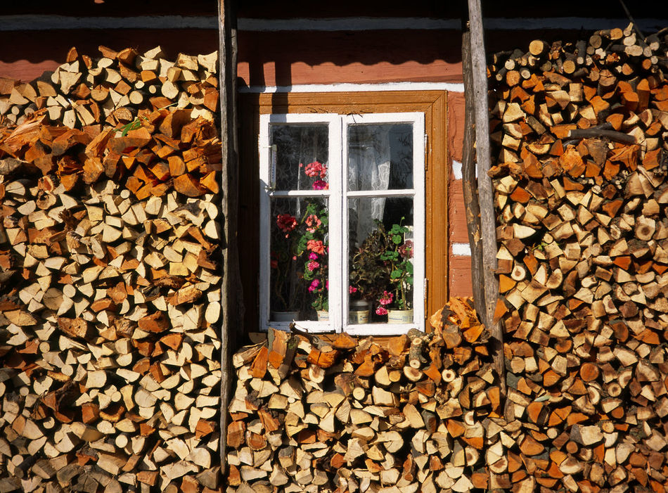 Beskid Beskid Niski Beskidy Day Firewood Hut Huts Niski No People Outdoors Window Wood - Material