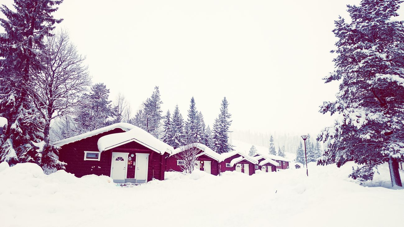 Walking Around Snow ❄ Walking Sweden Snowy Days...