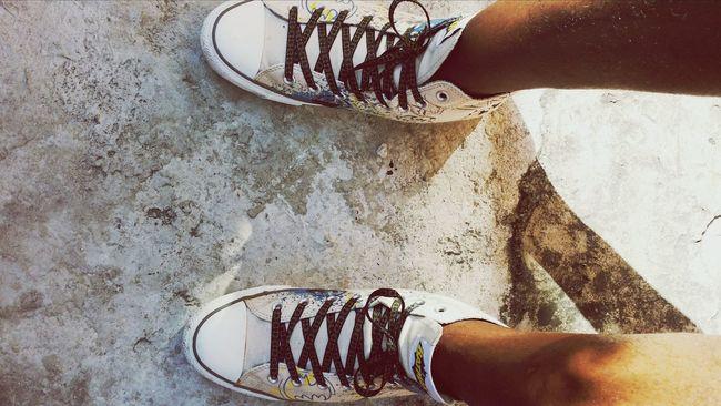 Kickin It In The Converse Converse⭐ Shoe Comfort
