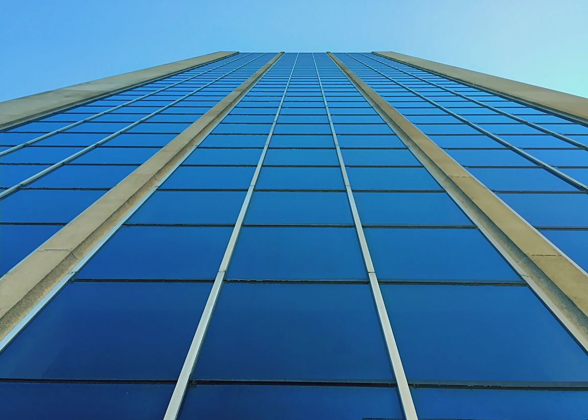 Skyblue Bleu Architecture Architecture_collection Architectural Detail Reflection Symmetrical Symmetry