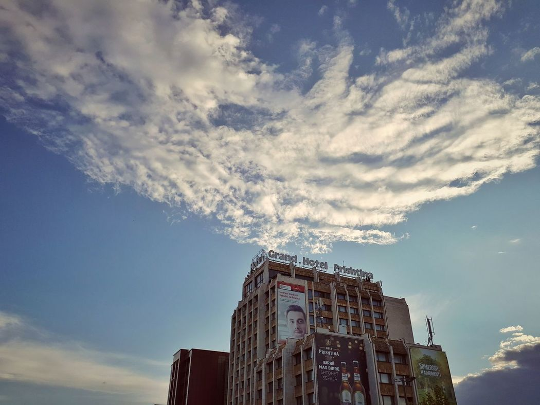 Cloud - Sky History Architecture Sky Travel Destinations Outdoors Built Structure Low Angle View No People Day King - Royal Person Astronomy Skyscraper VSCO PRISHTINA Vscokosova Backgrounds Building Exterior Apartment City Window Architecture Full Frame Silhouette