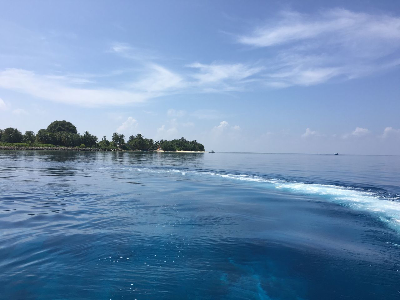 Tropical Tropical Paradise Islandlife Water Sky Nature Scenics Beauty In Nature Sea Tranquil Scene Waterfront Outdoors No People Day Tranquility Cloud - Sky Tree Rasdhoo Maldives Indian Ocean EyeEmNewHere