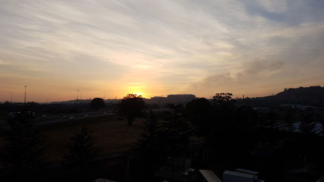 African Sunrise Sunrise Over Africa 🇿🇦🌝🌞 South Africa 🇿🇦 New Day New Challenges Fresh Start God Shows Up To Display His Glory Capturing The Moment Good Morning World! From Where I Stand Sunrise Over Africa