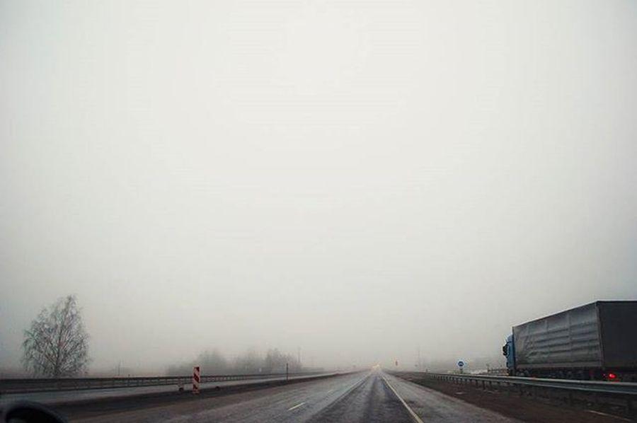 Road Roads Fog Wagon  LINE Minimal