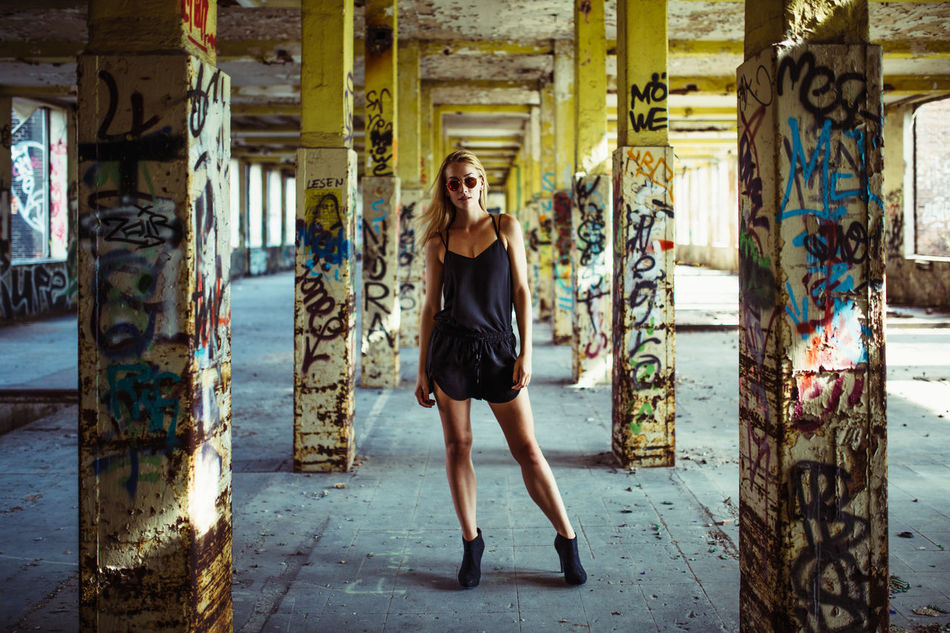 Beautiful stock photos of graffiti, 18-23 Years Old, Germany, Hannover, abandoned