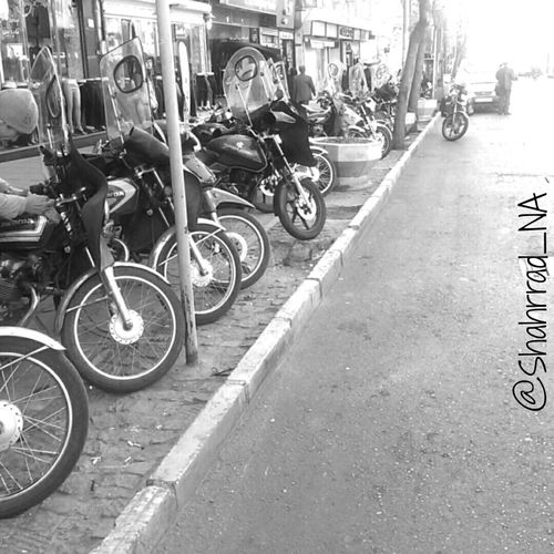 Art هنر Shahrrad_NA Photography Motor Motor Cycle Blakandwhite Photo