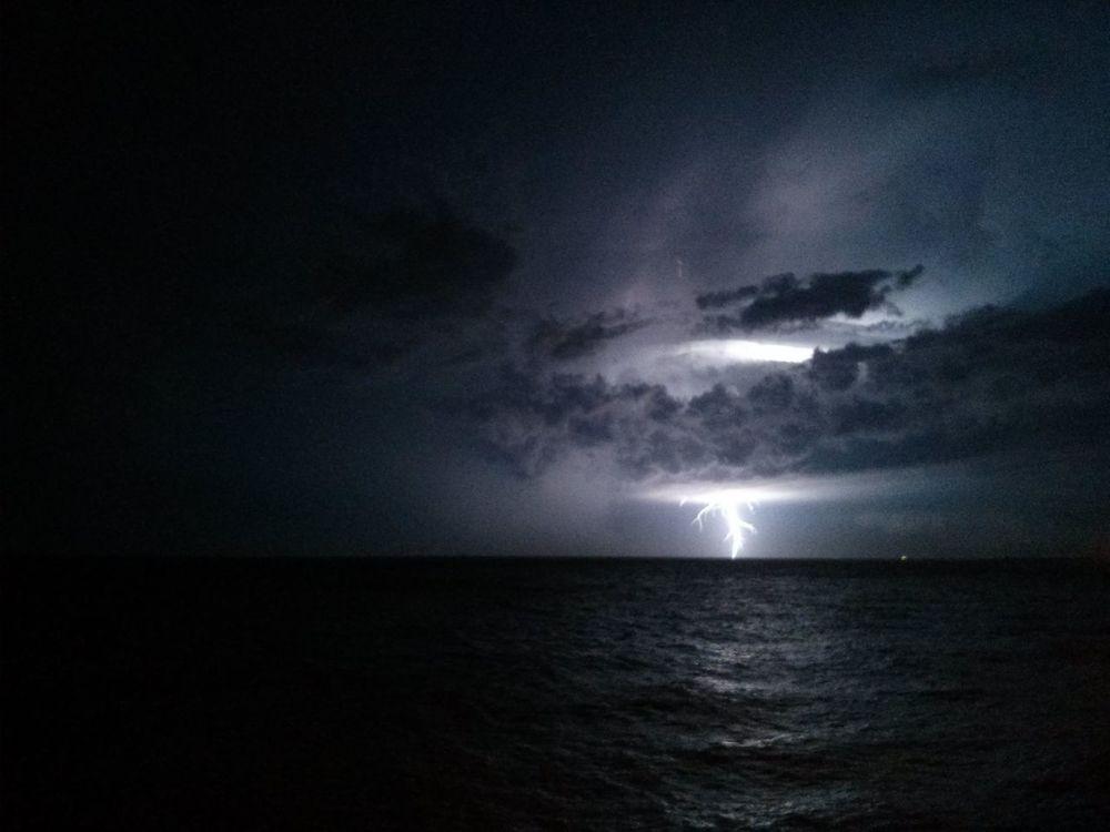 Lightning Storm turned NYE Fireworks near Montevideo. · The EyeEm Facebook Cover Challenge