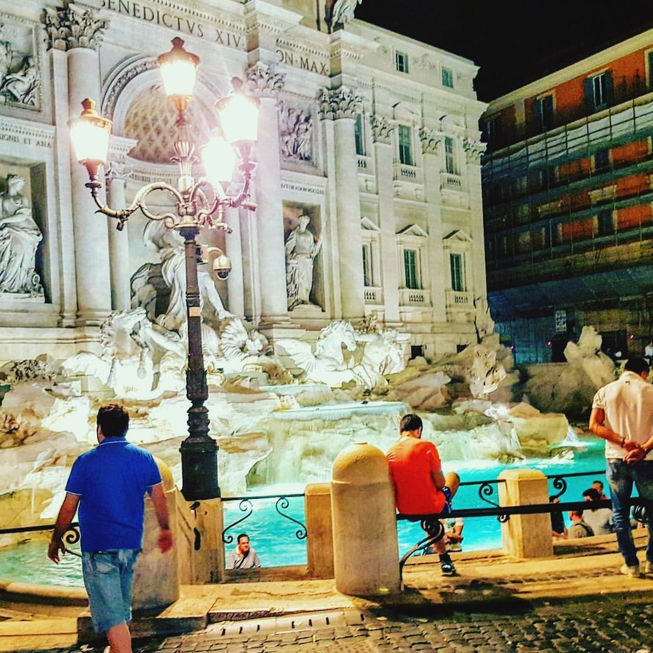 Architecture City Outdoors TreviFountain Rome Italy