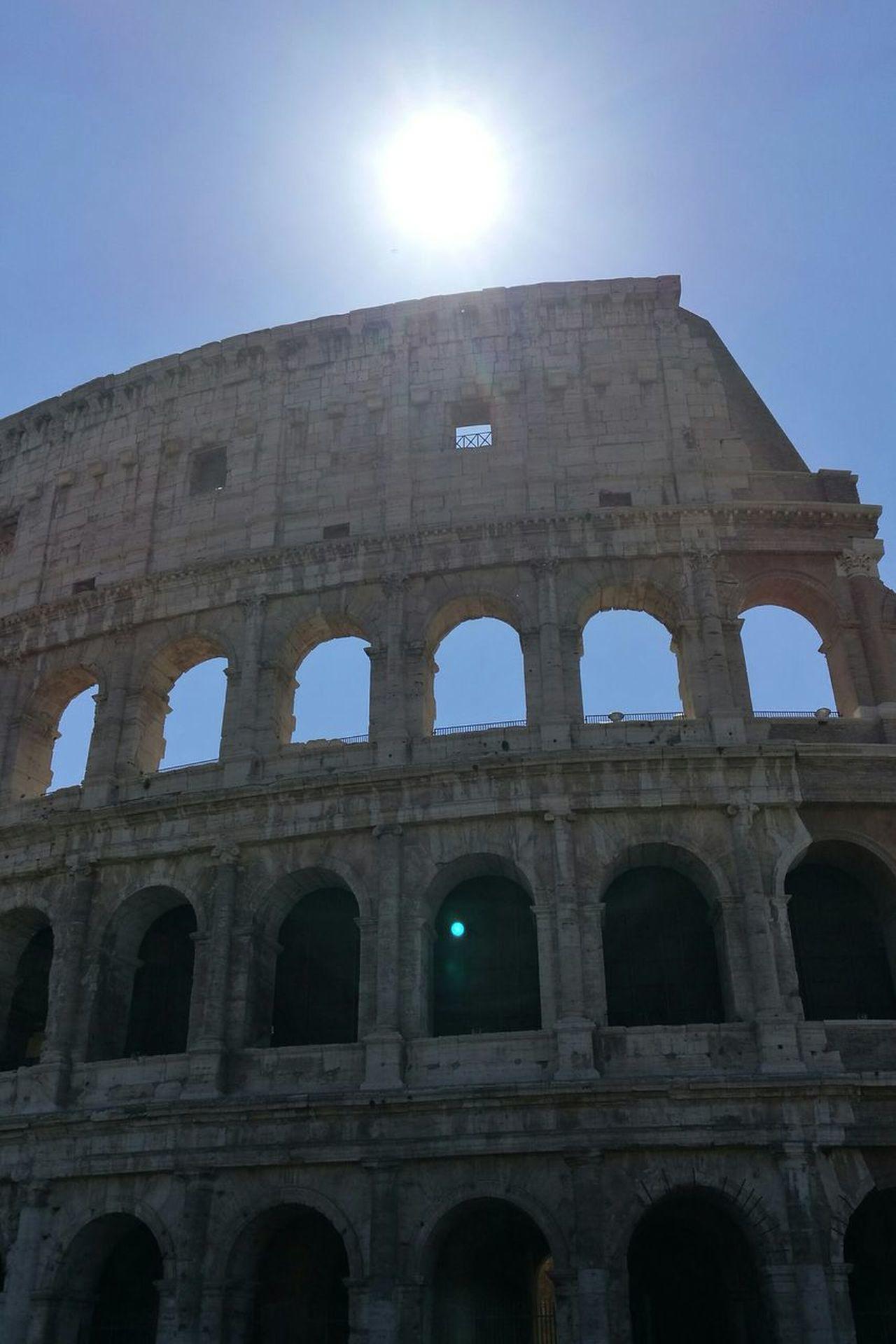 Beautiful Rome Rome Italy🇮🇹 Roman Architecture Architecture History Coliseum Rome Sun_collection