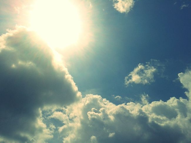 Sky And Clouds Sun And Clouds The World Is Beautiful Beautiful Day