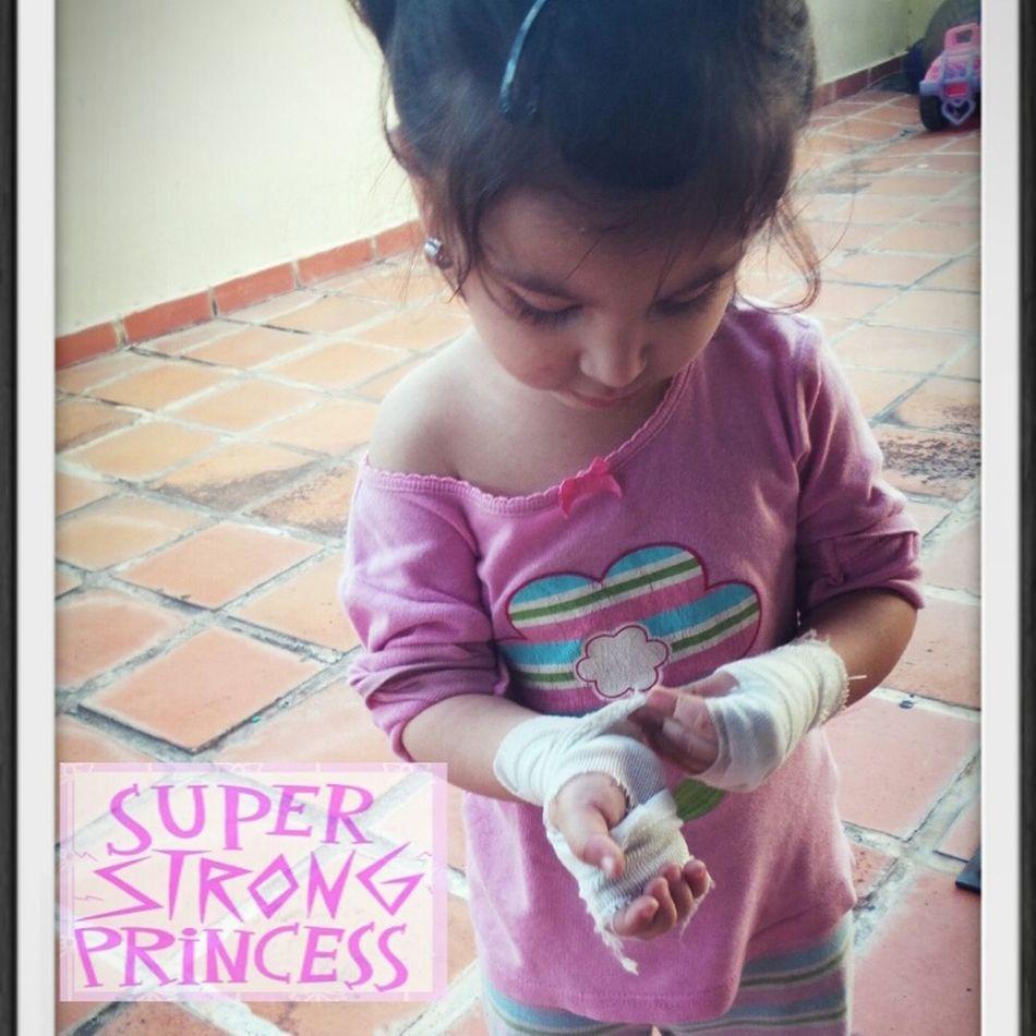 My Princess Dauther strong