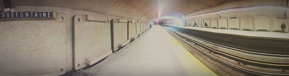 Panorama Montreal, Canada I Love It ❤ Subway Metro Popular Photos First Eyeem Photo Photos Around You In The Terminal Inspiration