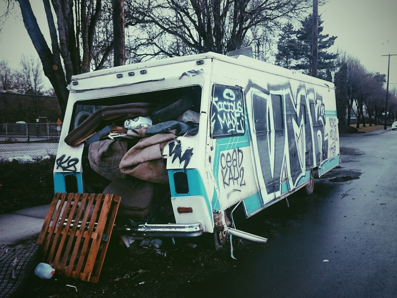 Rv Urban Wrinkles Of The City  Portland, OR North Portland Urban Landscape No People Abandoned Places Abandoned Urban Textures Graffiti Street Art Spray Paint Creativity Apocalyptic Visions