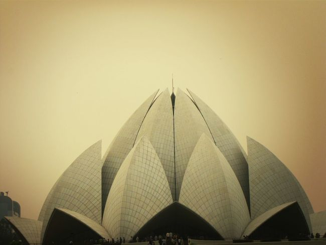 The Architect - 2014 EyeEm Awards Baha'i Lotus Temple New Delhi Supernormal