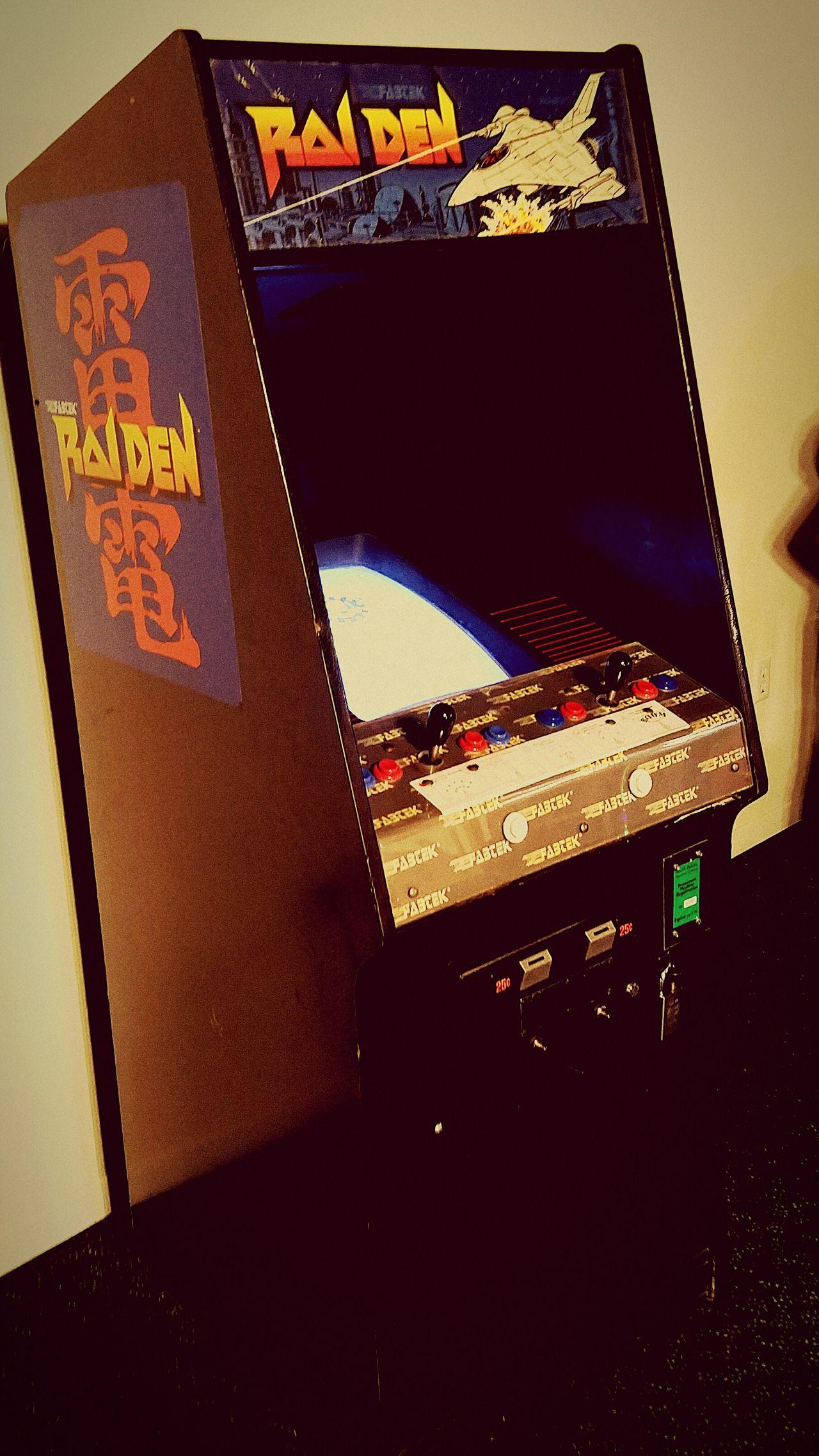 1980s Arcade Raiden