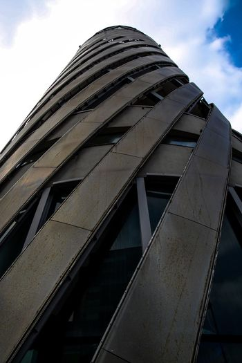 Architecture Low Angle View Building Exterior Tall - High Salford Quays Lowry Tower