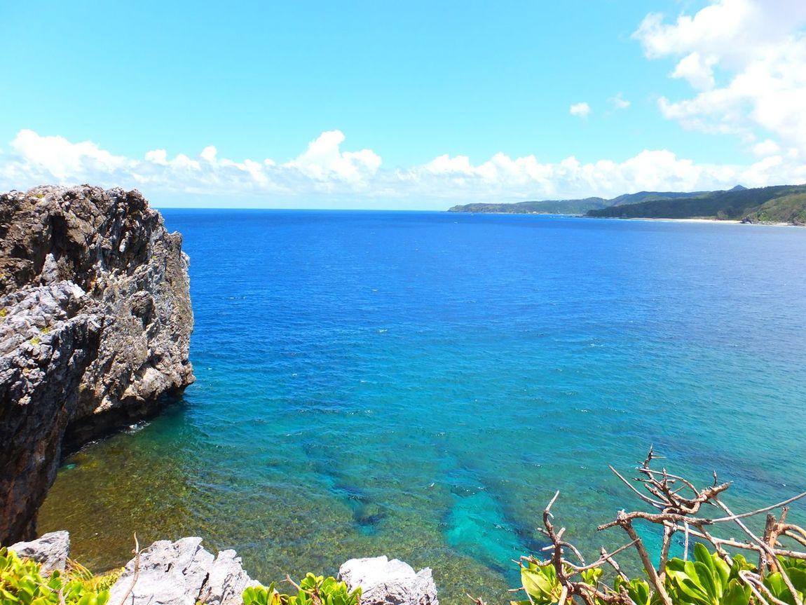 沖縄県 ( Okinawa )の 辺戸岬 ( Hedo )の風景です