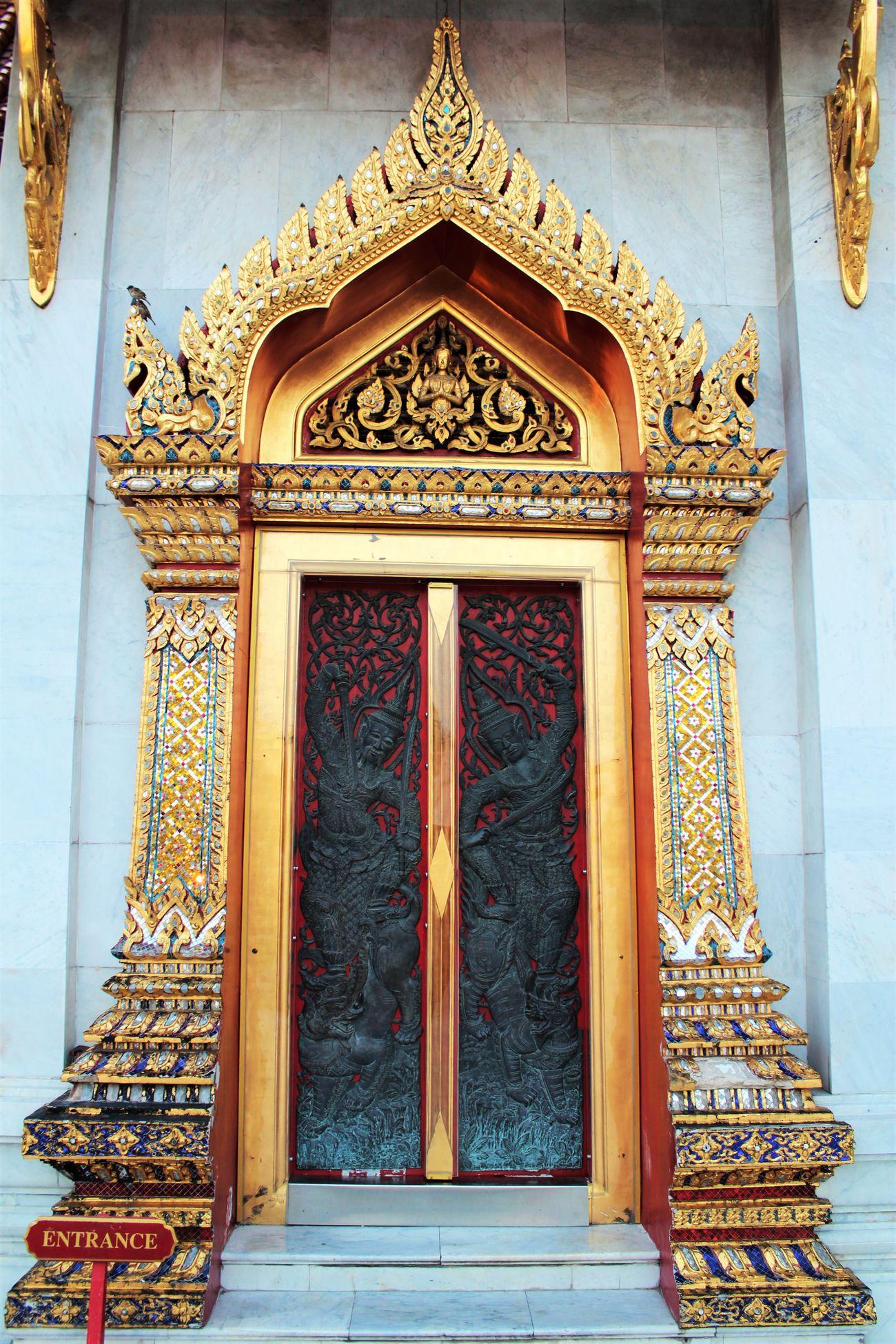 wat benchamabopit temple Marbletemple Gate Thailand