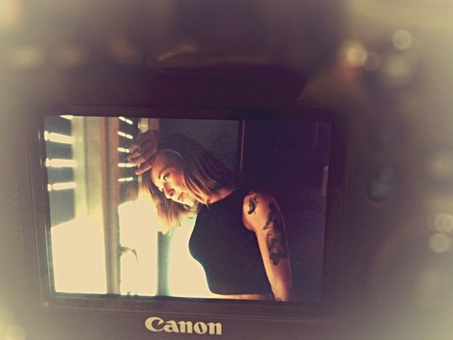 Makeing Make Magic Happen Canon Sweet Woman Tattoo Taking Photos That's Me Soft Inprogress