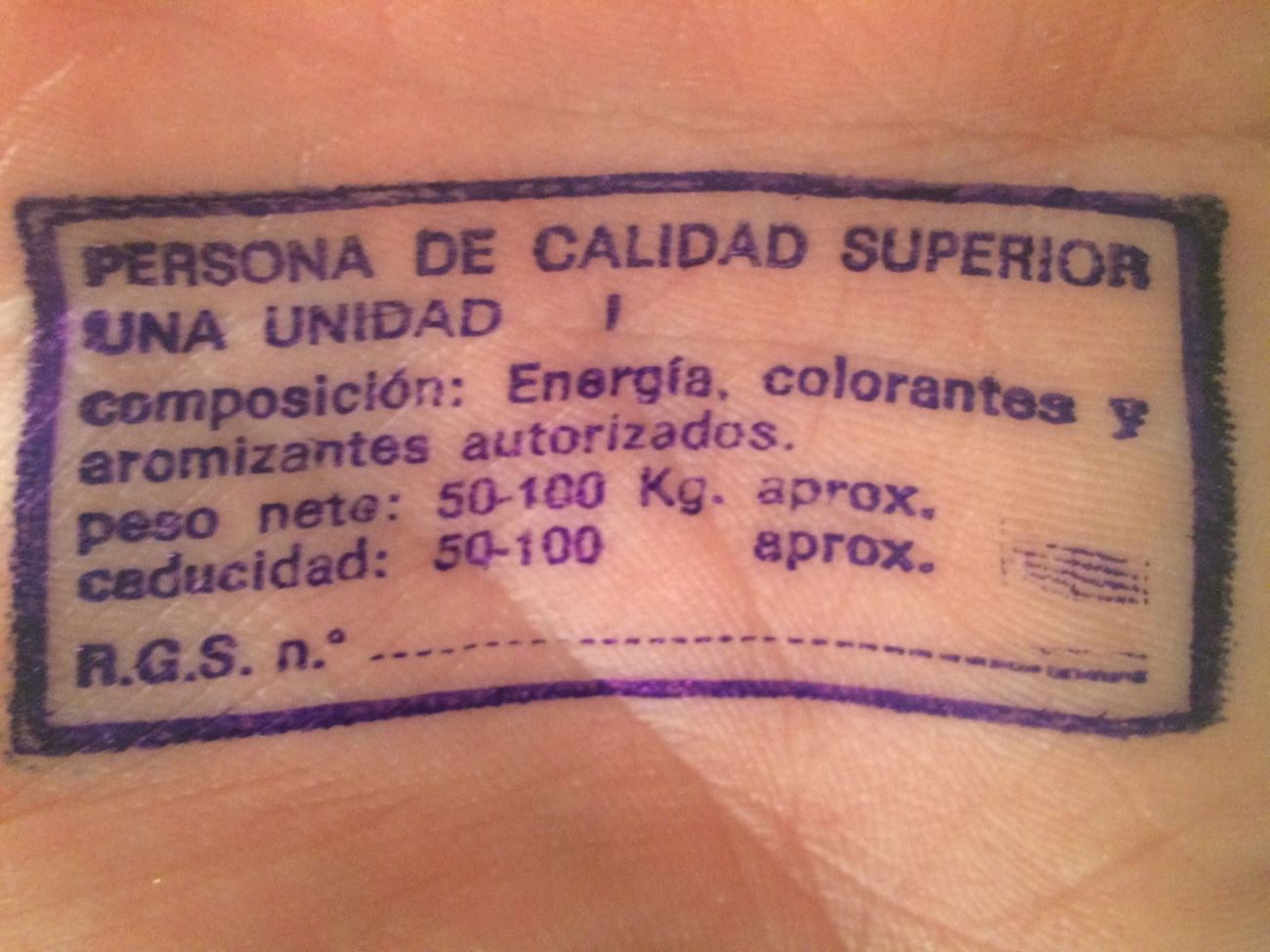 Quality Purita Verdad!