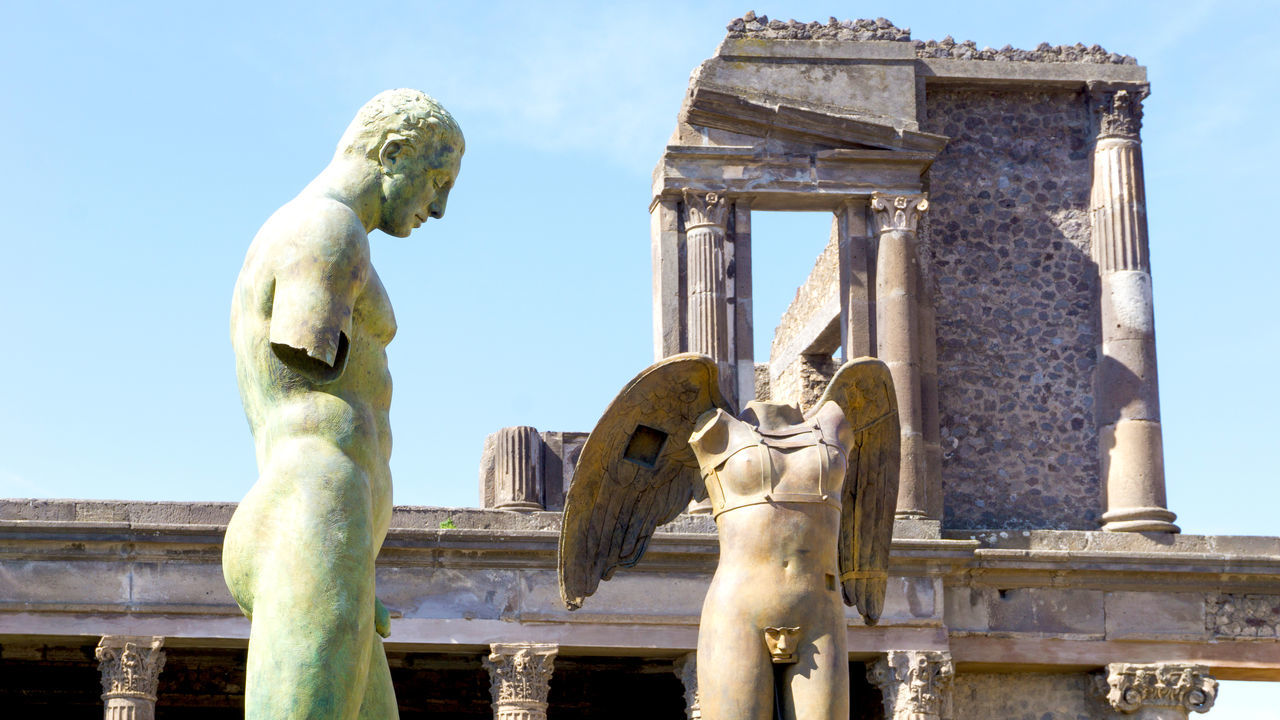 Beautiful stock photos of pompeji, art and craft, sculpture, statue, history