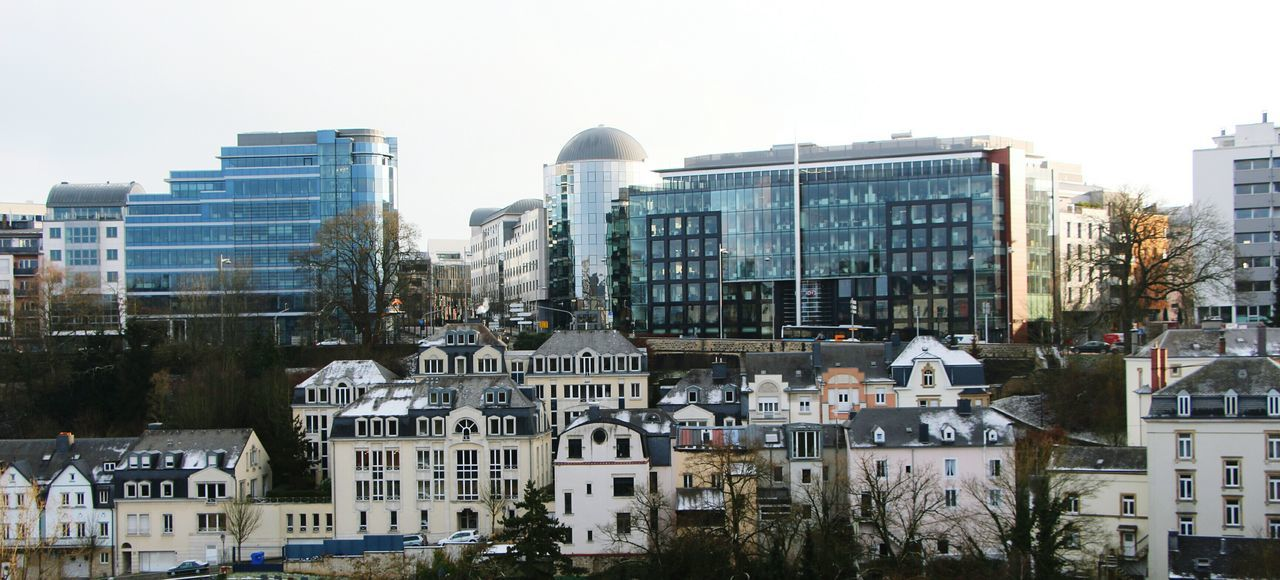 TakeoverContrast Luxembourg Luxembourg Streetphotography Luxembourg_Collection New And Old Buildings Oberstadt Unterstadt City Building Exterior Cityscape Old Vs New Old Vs Modern