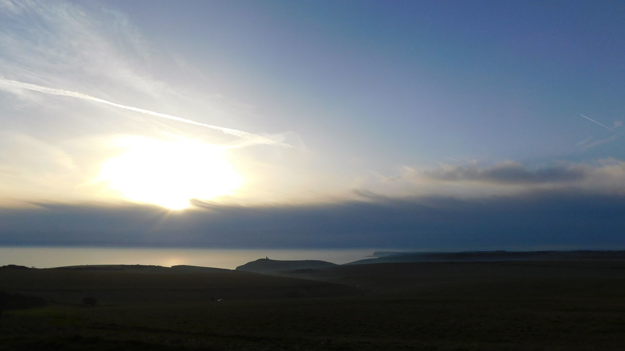 The Sussex Coast Beachy Head Beauty In Nature East Sussex English Channel Field Landscape No People Outdoors Scenics Tranquility