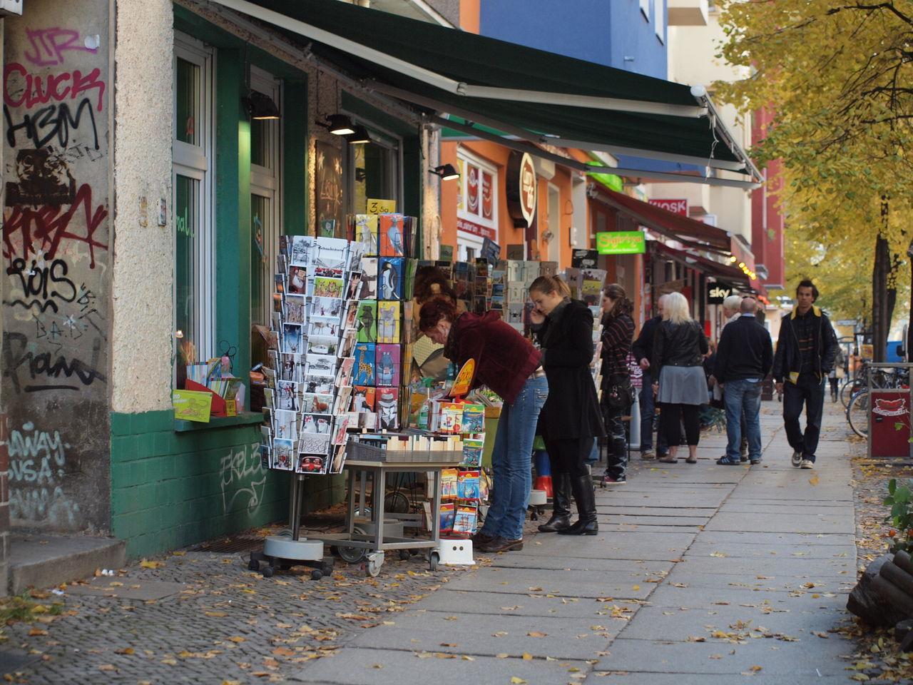 Book Shop Book Store City Men Outdoors People Retail  Shop Shopping Store Storefront Street Streetart Women
