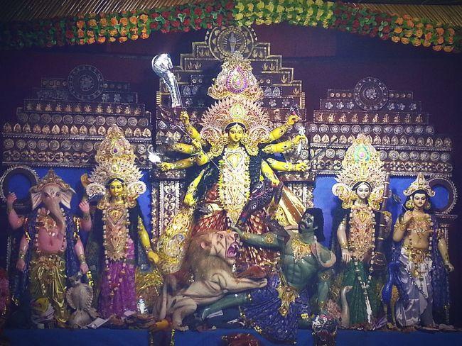 Culture Human Representation Place Of Worship History Representation Religion Statue Durga Puja Festival In INDIA