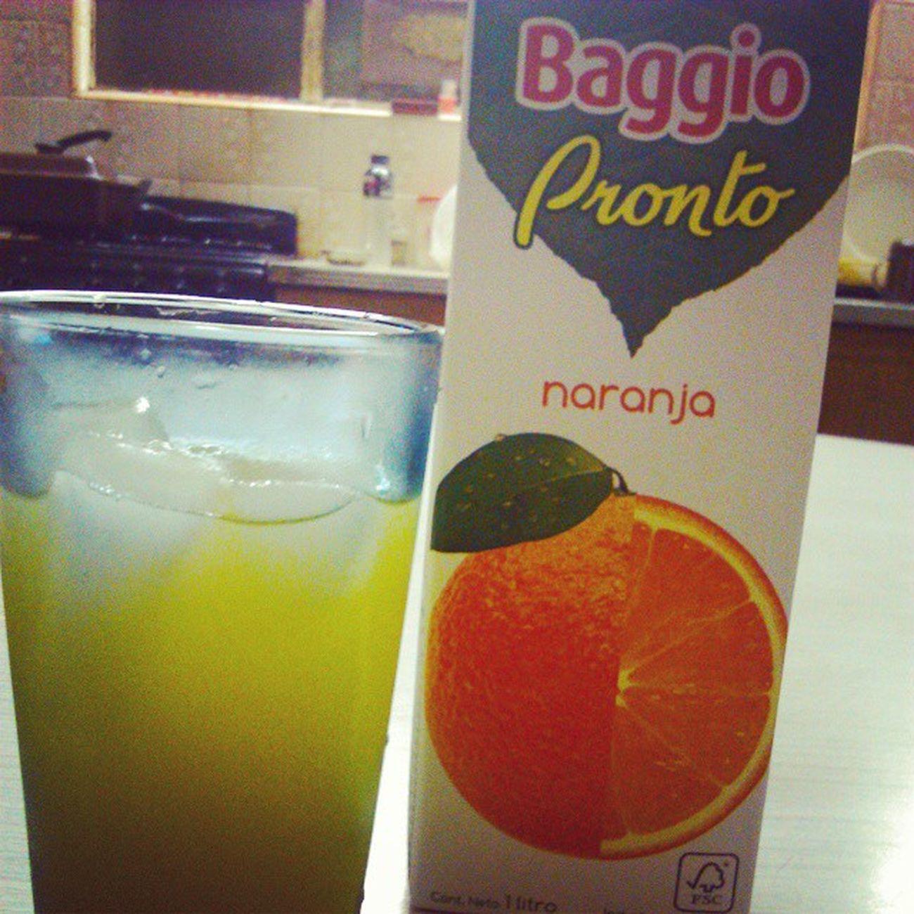 Lloraría de felicidad.. BAGGIO Pronto Naranja Orangejuice