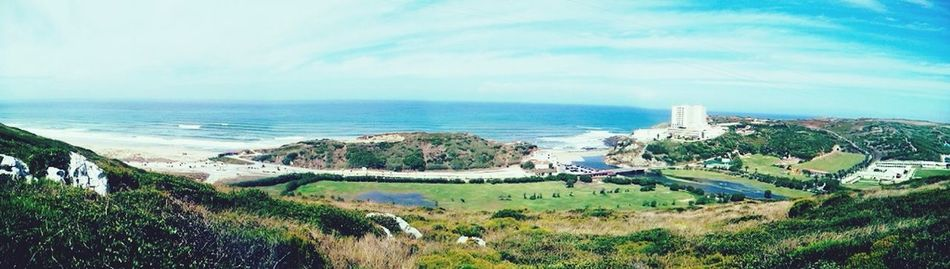 Panorama Praia De Porto Novo e Praia De Santa Rita com Rio Alcabrichel à vista