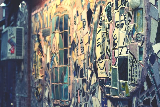 Original Experiences Isaiah Zagar Philadelphia's Magic Gardens Mission Passion Hardwork Location Photo Travel Eyem Photography Eyemphotography City_collection Photooftheday Walk Walking Around The City  Photographer Eyeem Missions Feel The Journey Showcase June Fine Art Photography Fine Art Photograhy
