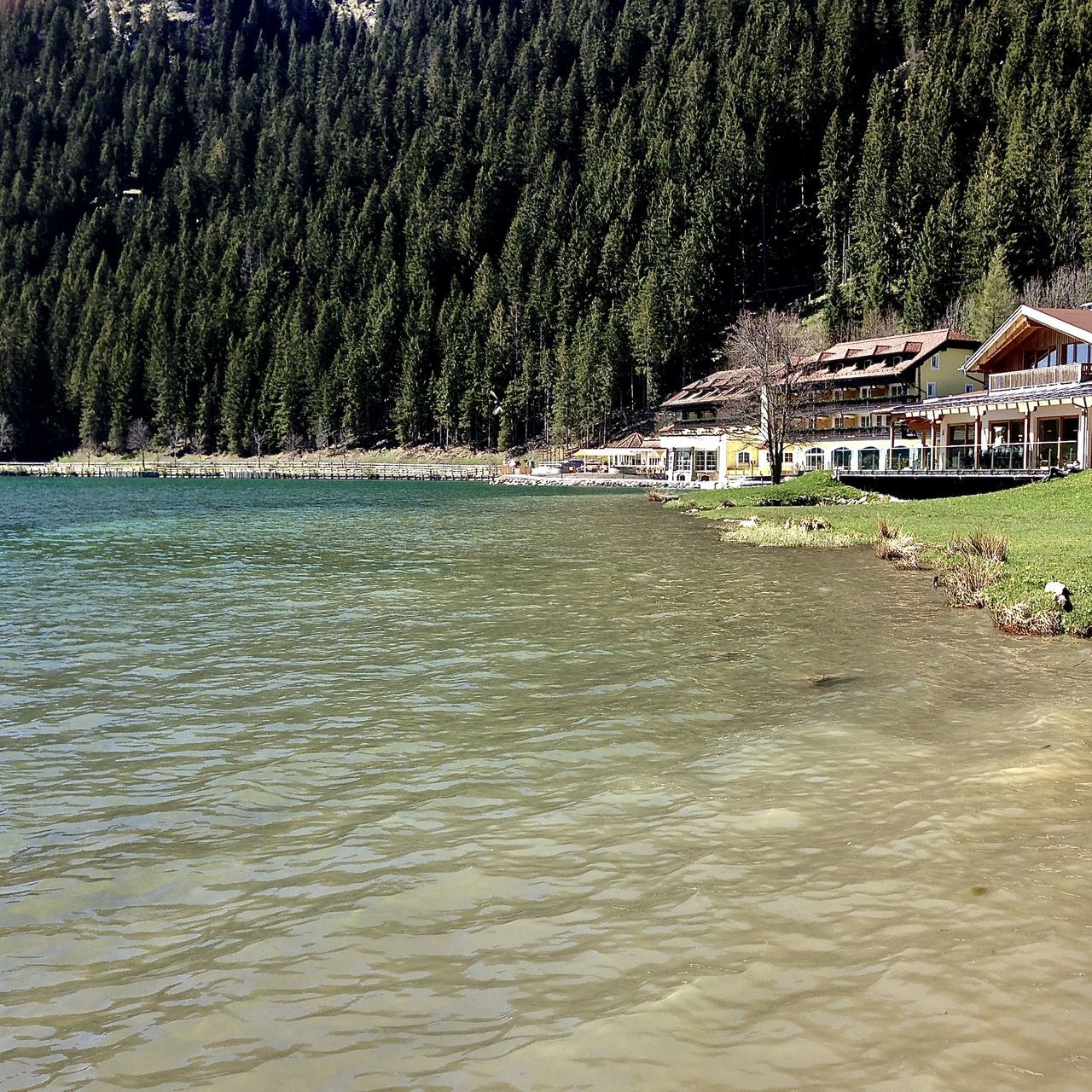 at the lake .., Haller am Haldensee Architecture Austria Beach Beauty In Nature Forest Greenery Haldensee Holiday Lake Life Light Nature Nature Outdoor Outdoors Scenics Spring Tannheimer Tal Tirol  Travel Tree Water Waterfront The Great Outdoors - 2017 EyeEm Awards