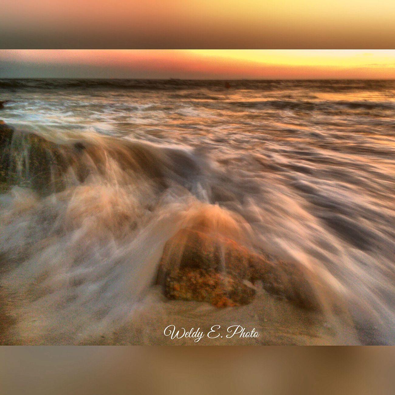Sunset At Long Beach, NY Longexposurephotography Long Exposure Shot Beachphotography Visualmagic EyeEm Best Shots - Long Exposure Sunset_collection Slowshutter World EyeEm Sunset Popular Photos