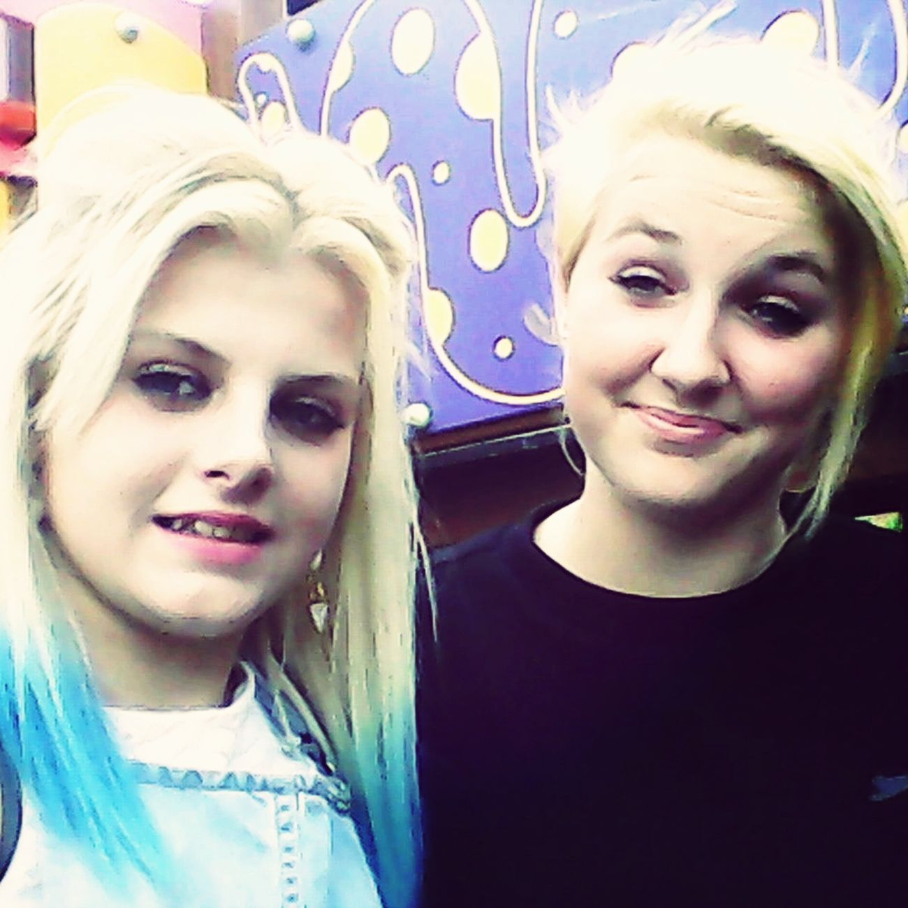 Me & My Girl, i love you<3 Bestfriends Blondes Love Parkk