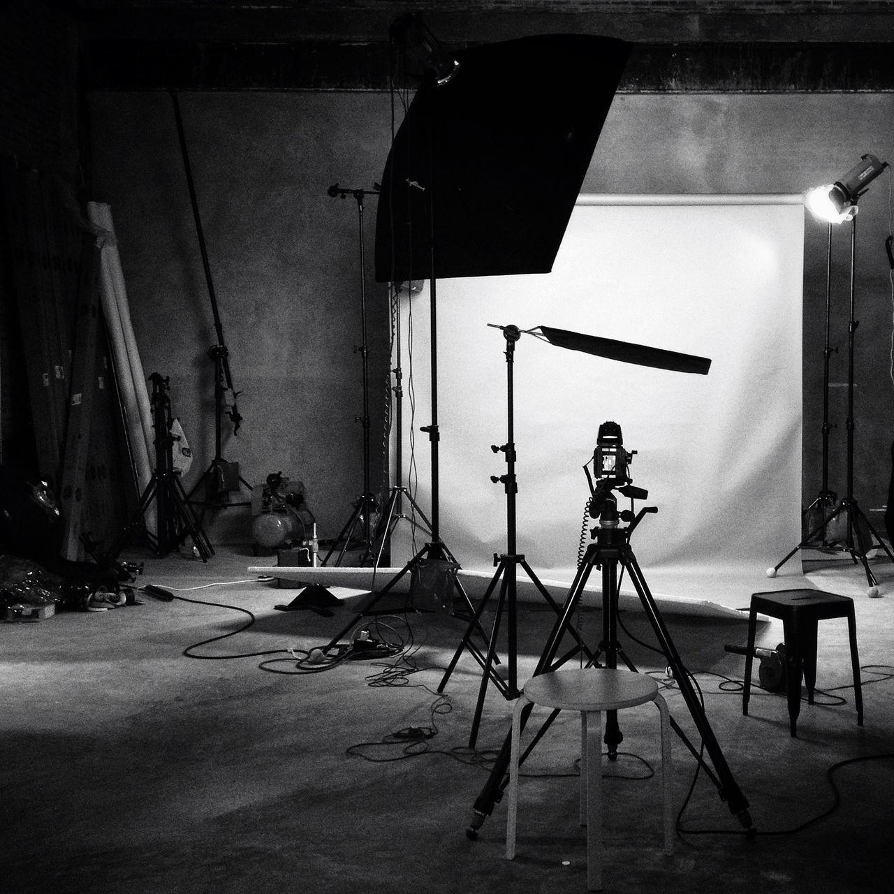 Interior Of Film Studio