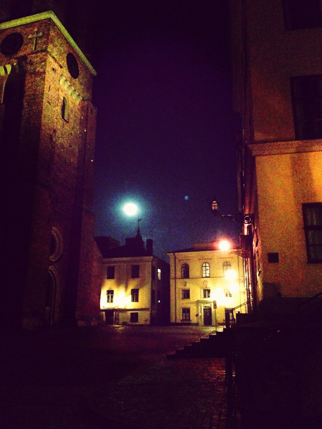 Riddarholmen Stockhom at Night