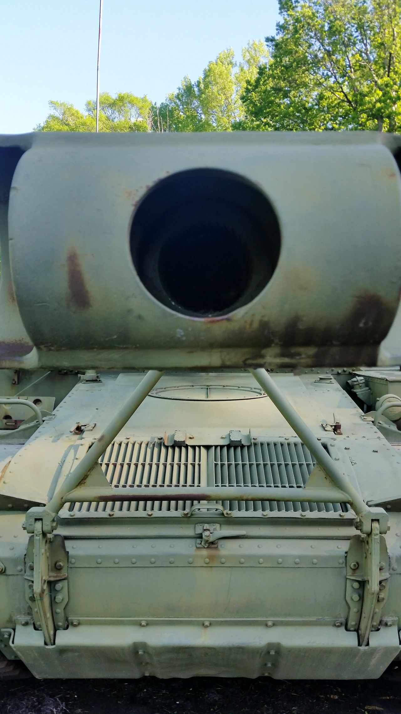 Tank Military Army Barrel War Watch Out!