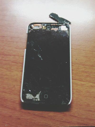 Broken Bad Sad :( IPod Touch #rip