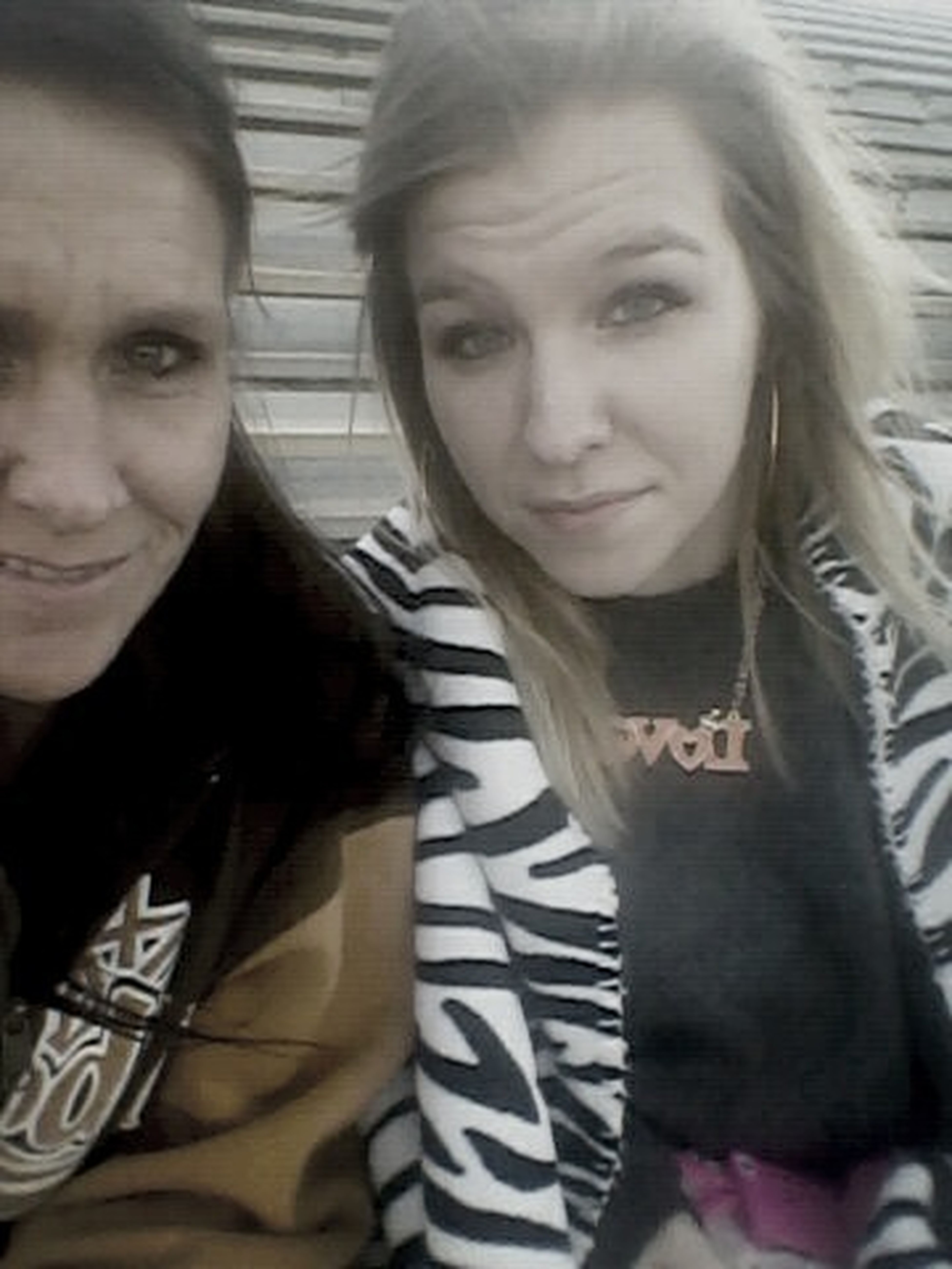 Me And Mommy. (: