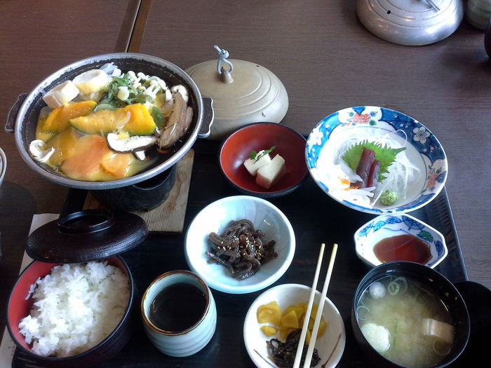 Bowl Day Egg Yolk Food Food And Drink Freshness Healthy Eating Indoors  Japanese  Japanese Food Japanese Style Meal No People Plate Ready-to-eat Salad Bowl Serving Size Table Tokyo Tokyo Food