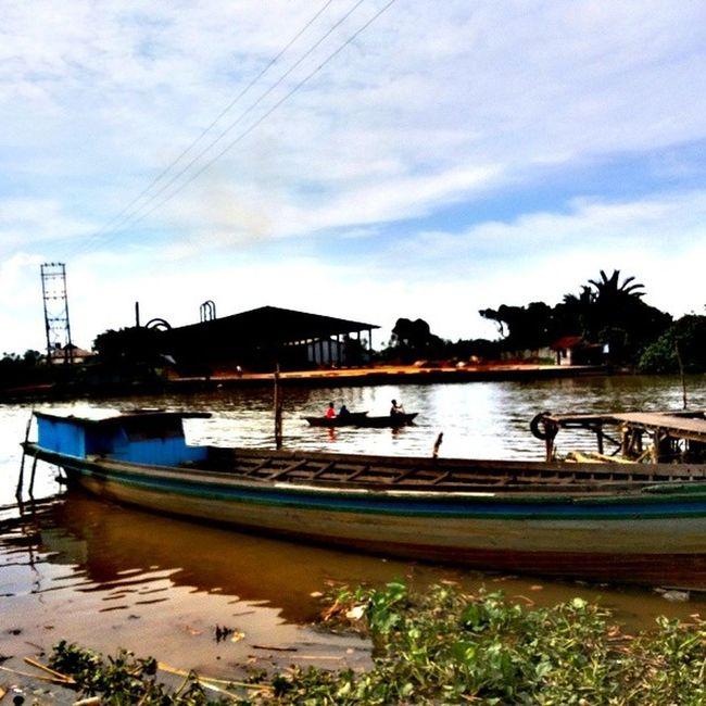 Finally CentralBorneo View River Borneo indonesia