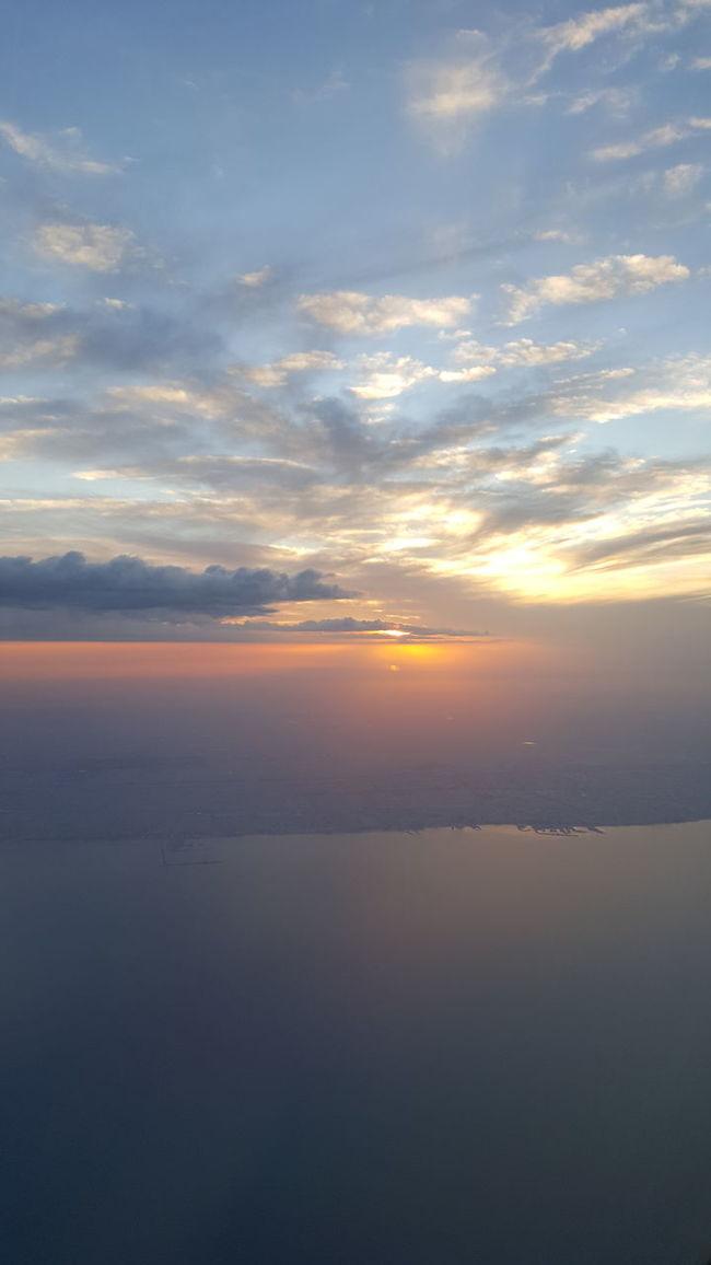 NoEffects  Kuwait City Kuwait❤ Sky And Clouds Arabian Gulf