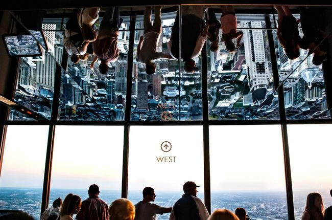 It's a topsy turvy world City Life Cityscapes On Top Of The World People People Watching Reflection Reflection_collection Tourism Travel Destinations Vacations People And Places