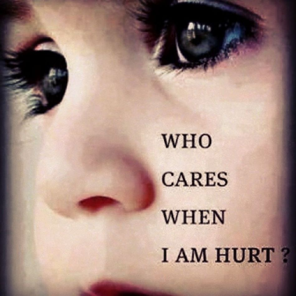 The scar in my heart would never be known by anyone but God and I... WhoCaresWhenIAmHurt