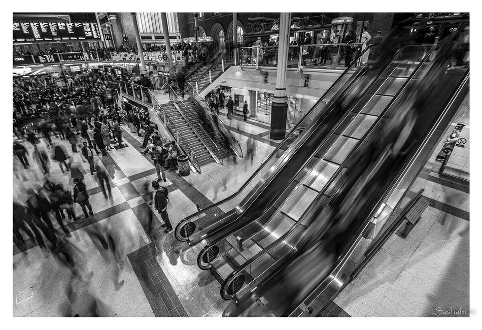 Shades Of Grey London Liverpoolstreet Liverpool Street Station Liverpool St City Of London Black And White Black & White Black&white B&w