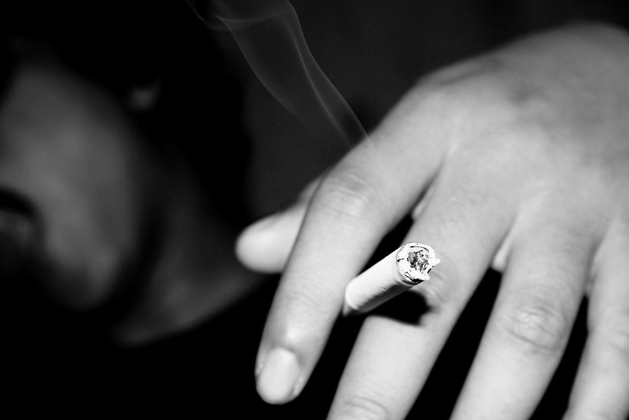 Smoker Smoke Cigarette  Smoking And Chilling Smoking Cigarette Time Blackandwhite Black And White