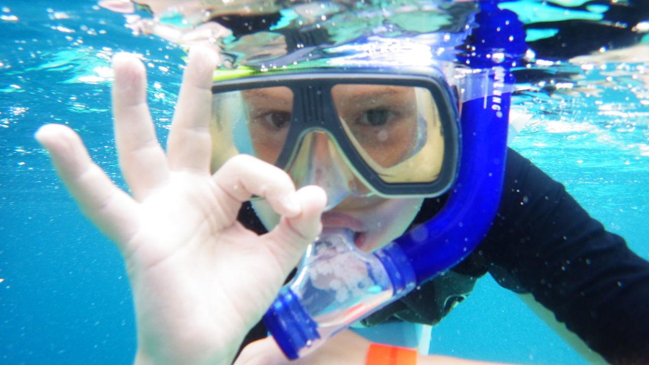 I'm ready and you? Adventure Child Snorkeling Close-up Fun Happy Child  Holiday Leisure Activity Lifestyles Maledives One Person Only Boys Ozean Recreational Pursuit Satisfaction To Eyes Scuba Mask Snorkeling Sport Swimming Swimming Goggles Underwater Water Capture The Moment EyeEmNewHere Real People