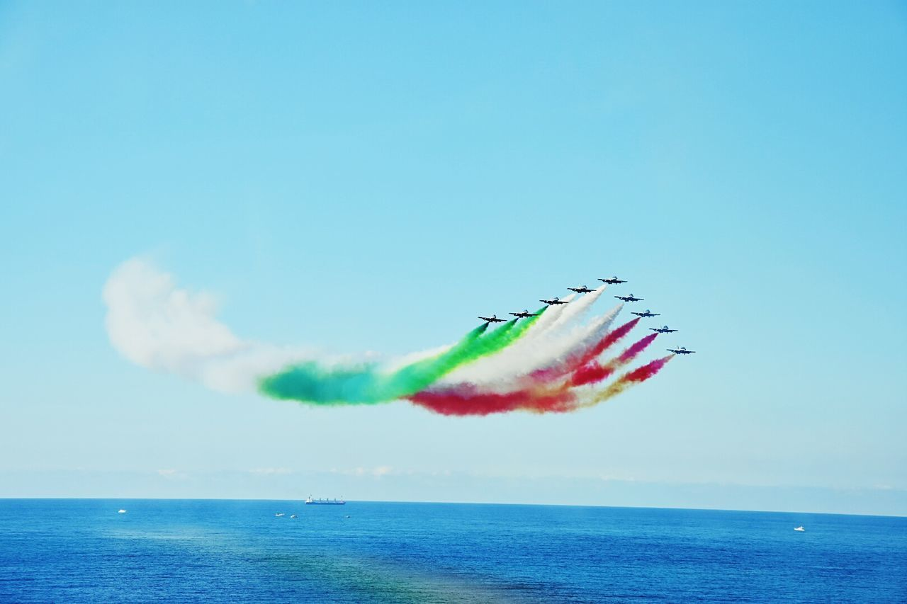 Frecce tricolori Airshow Acrobatic Demonstration team of Italian Air Force BYOPaper! EyeEmNewHere